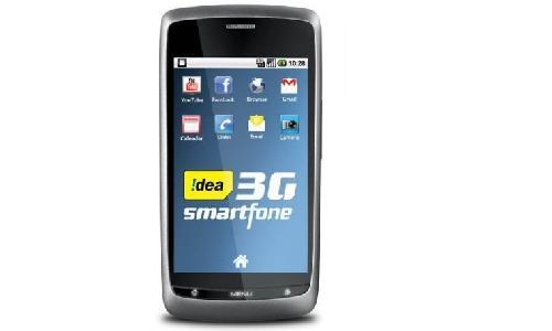 आइडिया ने लांच किया 3 जी कनेक्शन से लैस स्मार्टफोन