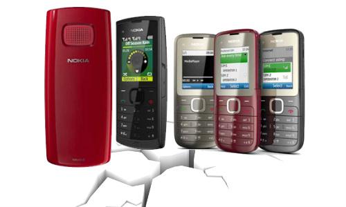 नोकिया के डयूल सिम बजट फोन C2-00 और X1-01