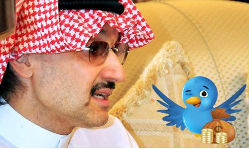 सउदी अरब के युवराज ने ट्विटर में 30 करोड़ डॉलर का निवेश