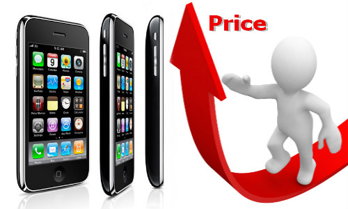 एप्पल ने आईफोन की कीमत में की बढोत्तरी