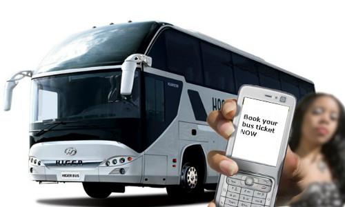 अब अपने मोबाइल से बुक करें बस टिकट
