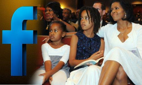 ओबामा ने बेटियों पर फेसबुक के उपयोग पर रोक लगायी
