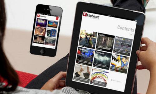 फ्लिपबोर्ड ने लांच की नई आईफोन एप्लीकेशन