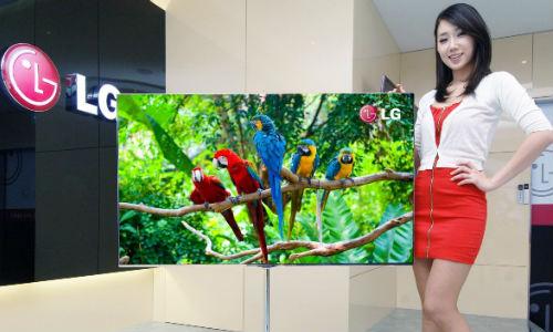 एलजी लांच करेगा दुनिया का सबसे बड़ा टीवी