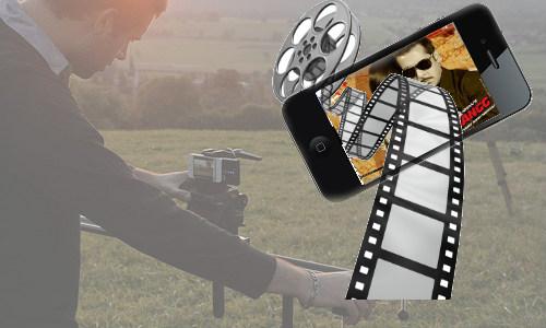 आने वाले दिनों में मोबाइल से बनेंगी फिल्में