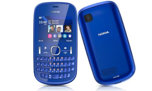 नोकिया का सस्ता मोबाइल फोन आशा 200