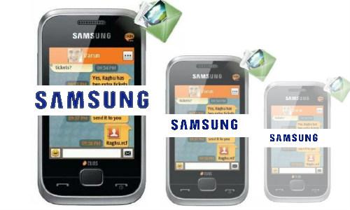 ड्यूल सिम मोबाइल सैमसंग सी 3312 ड्यूस