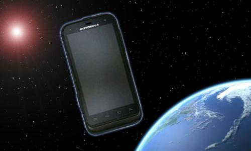 मोटोरोला मोटो XT535 टच स्क्रीन फोन