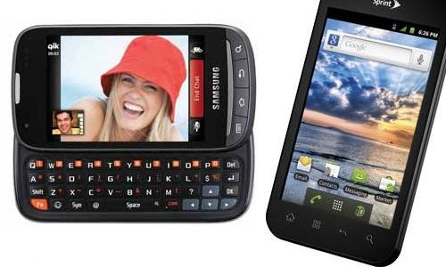 दो दमदार स्मार्टफोन एलजी मारक्यू LS855 और सैमसंग ट्रांसफार्मर