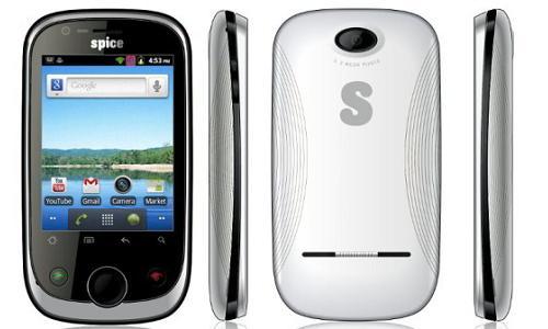 ड्यूल सिम और एंड्राएड ओएस से लैस स्पाइस स्मार्टफोन