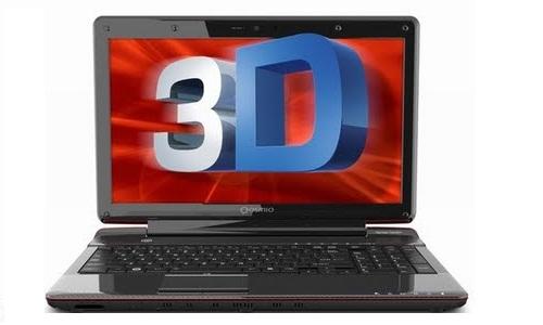 तोशीबा का नया 3डी गेमिंग लैपटॉप कासमियो F755 3D
