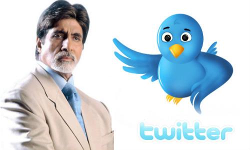 ट्विटर पर अमिताभ बने सबसे ज्यादा बॉलिवुड फॉलोवर सेलिब्रेटी