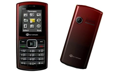 माइक्रोमैक्स ने लांच किया 1,600 रुपए में ड्युल सिम फोन