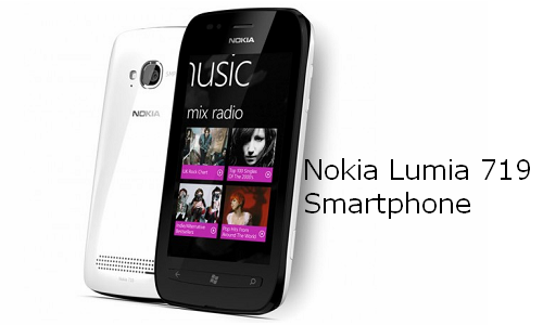 नोकिया ल्यूमिया 719  इंटरटेन्मेंट स्मार्टफोन