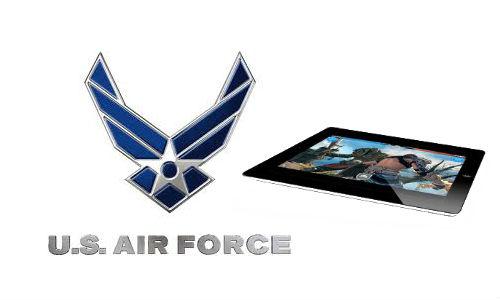यूएस एयरफोर्स को आईपैड 2 आया पसंद