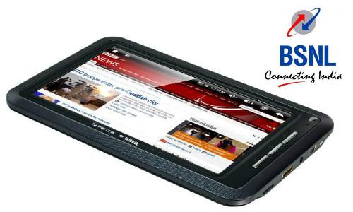 बीएसएनएल ने लांच किया 3250 रुपए में एंड्रॉएड टैबलेट
