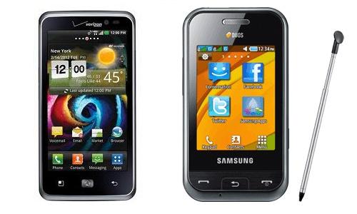 एलजी स्पेकट्रम और सैमसंग चैंप ड्योस में कौन है बेहतर स्मार्टफोन