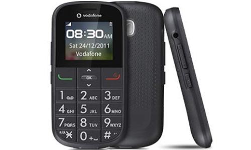 वोडाफोन ने लांच किया सीनियर सिटीजन के लिए खास फोन
