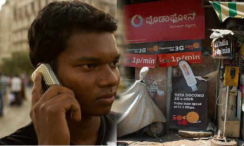 भारत में शौचालय से अधिक है मोबाइल फोन
