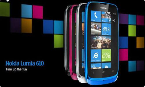 मात्र 11,000 रुपए में नोकिया बेचेगा ल्यूमिया 610 विंडो स्मार्टफोन