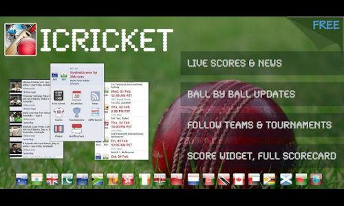 मोबाइल पर लाइव अपडेट के लिए फ्री डाउनलोड करें आई क्रिकेट एप्लीकेशन