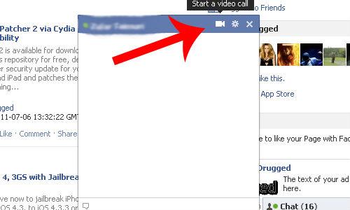 कैसे करें फेसबुक में वीडियो चैटिंग
