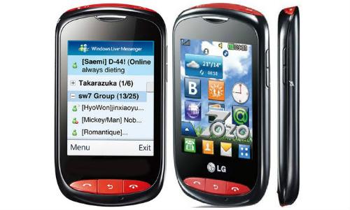 एलजी T310i वाईफाई बजट फोन
