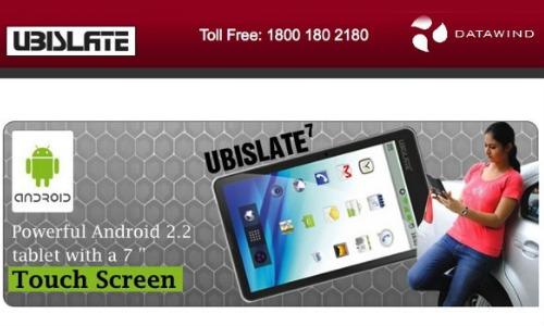 2,999 रुपए में ऑनलाइन मिल रहा है यूबीस्लेट टैबलेट