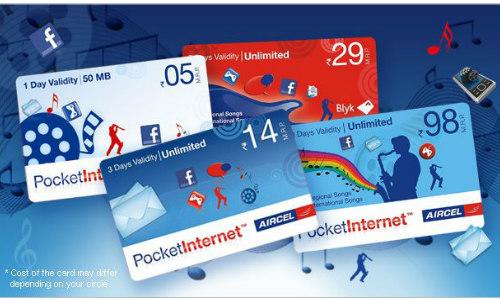 एयरसेल ने लांच किए नए किफायती 3G इंटरनेट प्लान