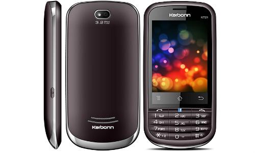 कार्बन ने लांच किया 4,490 रुपए में ड्युल सिम टच स्क्रीन फोन