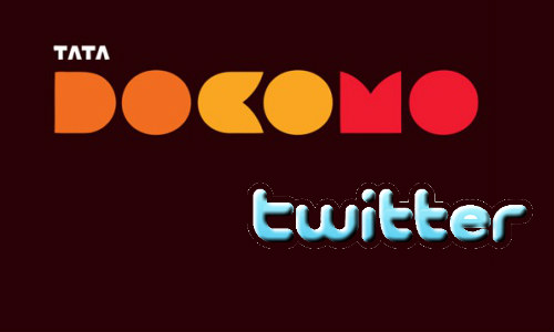ट्विटर से रिचार्ज करें अपना टाटा डोकोमों मोबाइल एकाउंट