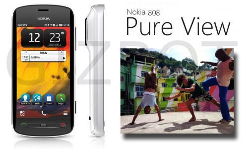 नोकिया ने भारत में लांच किया प्योर व्यू 808 कैमरा फोन