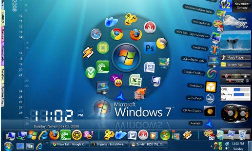 कैसे साफ करें विंडो 7 डेस्कटॉप और ड्राइव ?
