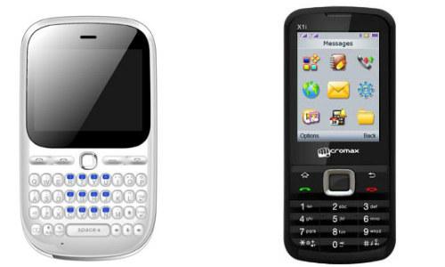 माइक्रोमैक्स के दो दमदार ड्युल सिम फोन Q34 और X1i XTRA