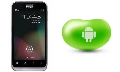 जेडटीई ने लांच किया पहला एंड्रॉएड जैलीबीन स्मार्टफोन