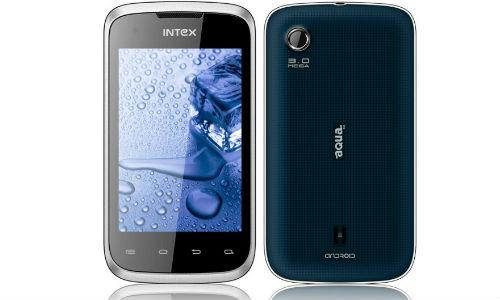 इंटेक्स ने लांच 5,490 रुपए में पहला एंड्रॉएड एक्वा स्मार्टफोन