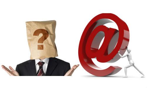 अपनी पहचान बताए बिना कैसे भेजें ईमेल