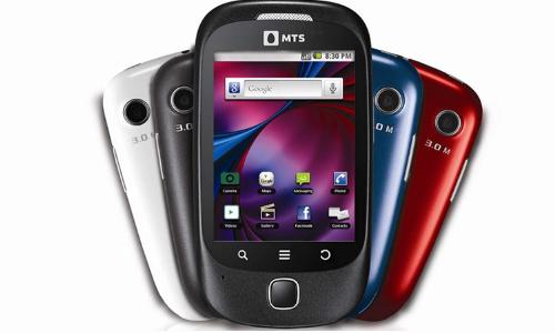 एमटीएस ने लांच किये तीन नए एंड्रॉएड स्मार्टफोन