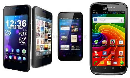माइक्रोमैक्स ने लांच किए एक साथ 3 एंड्रॉएड स्मार्टफोन