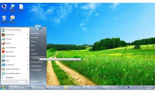 कैसे बदलें विंडो 7 में डेस्कटॉप बैकग्राउंड