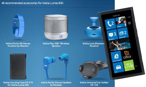 नोकिया ल्यूमिया 800 के लिए टॉप 5 फोन एसेसरीज