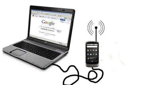 मोबाइल से पीसी और लैपटॉप में कैसे चलाएं इंटरनेट