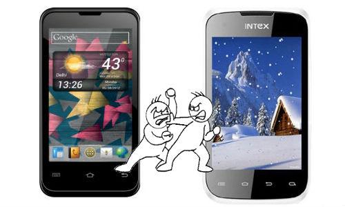 माइक्रोमैक्स ए87 निंजा 4 और इंटेक्स एक्वा 4.0 में कौन है बेहतर स्मार्टफोन
