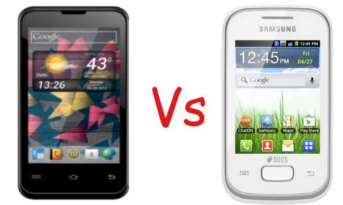 माइक्रोमैक्स ए87 और गैलेक्सी वाई ड्योस लाइट में कौन सा फोन पसंद करेंगे आप?