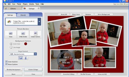 पिकासा वेब एलबम से कैसे अपलोड करें फोटो