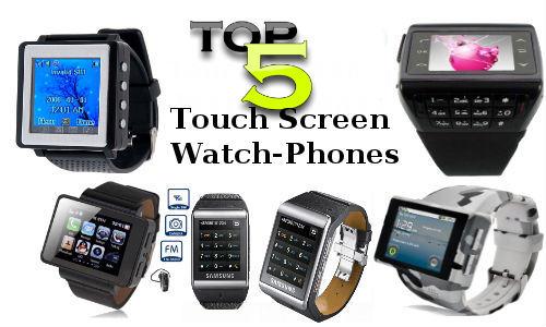 टॉप 5 टच स्क्रीन रिस्ट वॉच मोबाइल फोन