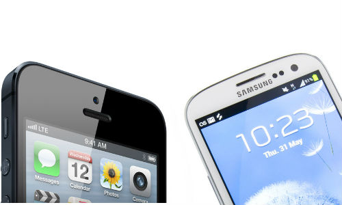एप्पल आईफोन 5 और सैमसंग गैलेक्सी एस3 में कौन है बेहतर स्मार्टफोन