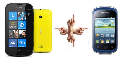 शुरुआती स्मार्टफोन की रेंज में कौन सा फोन लेंगे आप नोकिया ल्यूमिया 510 या फिर सैमसंग गैलेक्सी म्यूजिक