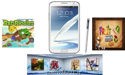 टॉप 6 एप्लीकेशन जिन्हें आप सैमसंग गैलेक्सी नोट 2 डाउनलोड कर सकते हैं