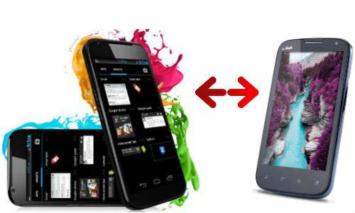 आईबॉल एंडी 4.3 जे और माइक्रोमैक्स कैनवास ए100, दोनों में कौन है बजट फ्रेंडली फैबलेट